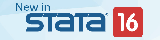 Stata 16 - New features and improvements in Stata 16